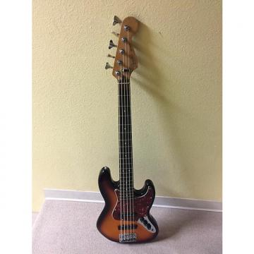 Custom Fender 5 string jazz bass