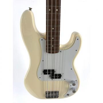 Custom Fender Precision Bass, Olympic White, 2010, Near New