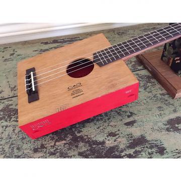 Custom Taconic Cigar Box Guitar Tenor Ukulele - CAO Consigliere - Acoustic/Electric - Active Electronics