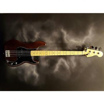 Custom Fender Am. Std. Precision Bass Ltd. Ed. Hand Stained Ash 2011 Brown