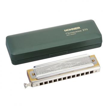 Custom Hohner Super Chromonica Harmonica Key of F