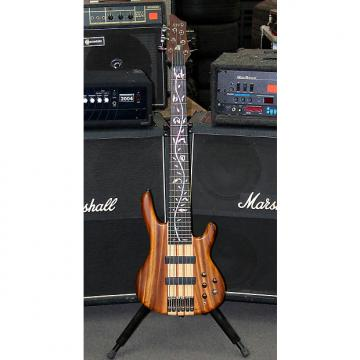Custom RAVEN WEST 6 STRING BASS NATURAL TWO TONE STAIN