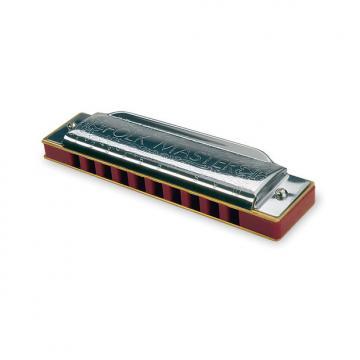 Custom Suzuki 1072-EB Folkmaster 10-Hole Diatonic Harmonica - Key of E Flat