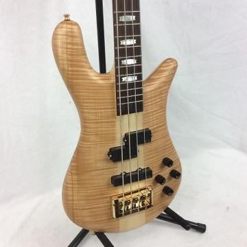 Custom Spector Euro4 LX Bass Guitar Natural