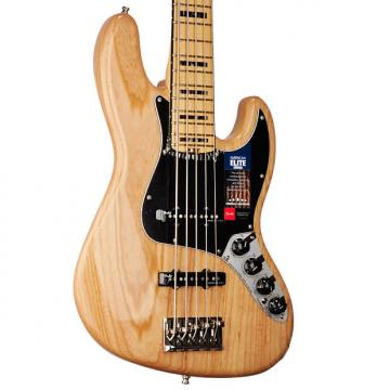 Custom Fender American Elite Jazz Bass V - US16100565 2017 Natural