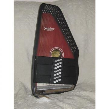 Custom Oscar Schmidt 21 Chord Autoharp early 2000's Cherry Black