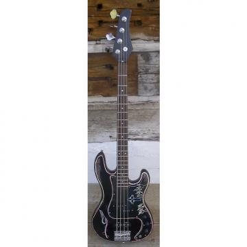 Custom Generic P-J Bass 80s Black