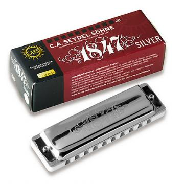 Custom C.A. Seydel 1847 Silver Key of C
