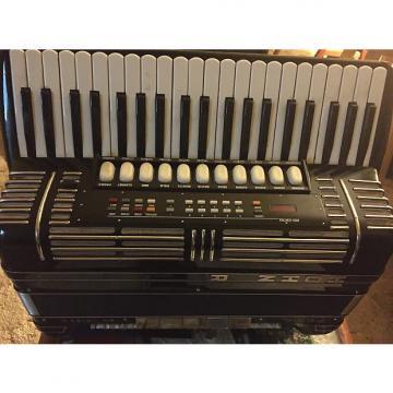 Custom Hohner accordion  Marino IV 1994 Black