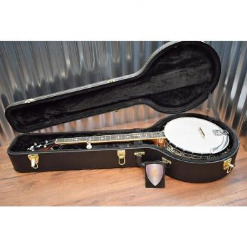 Custom Recording King RK-R36-BR Madison Tone Ring 5 String Banjo & Hard Case #1