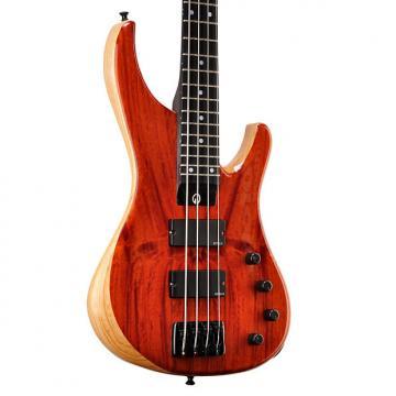 Custom G. Gould Geoff Gould Graphite Neck Red Nara GGi4 Bass - #1246 - 8.3 pounds 2017 Red Nara