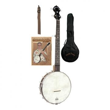 Custom Gold Tone CC-OTA A-Scale Cripple Creek Banjo Clawhammer Package