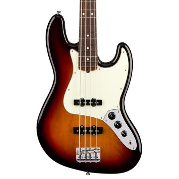 Custom Fender American Pro Jazz Bass, Rosewood Fingerboard - 3 Tone Sunburst