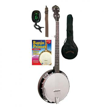Custom Gold Tone CC-BG Cripple Creek Banjo Bluegrass Starter Pack