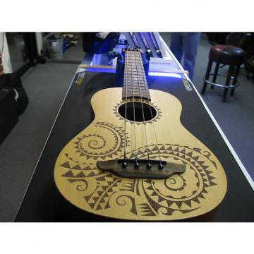Custom Luna Bass Ukulele