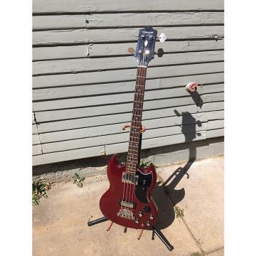 Custom Epiphone Elite EB-3 Bass- Hardshell Case-Japan Made-USA Parts-Rare
