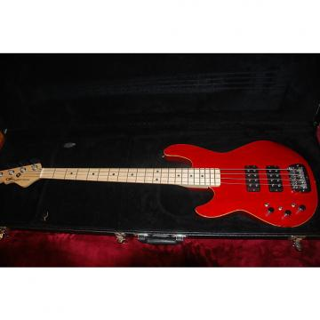 Custom G&L L-2000 High Gloss Red Left Handed 4-String Bass