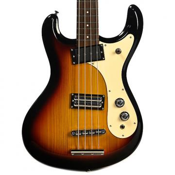 Custom Danelectro D64 Bass 3 Tone Sunburst