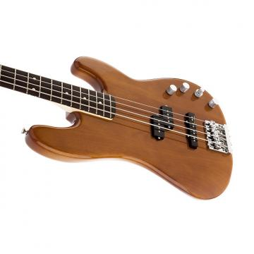Custom Fender Deluxe Active Precision Bass Special w/bag, Natural Okoume, Rosewood Fingerboard