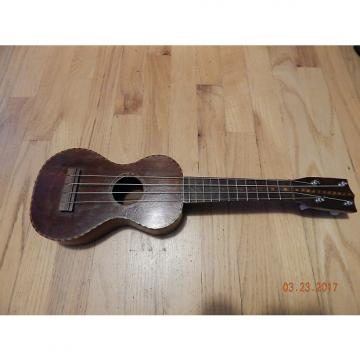 Custom Richter Soprano Ukulele 1920 Natural Wood