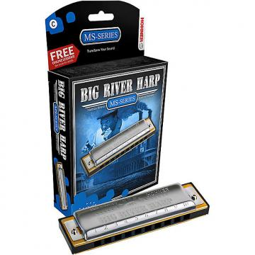 Custom Hohner Big River Harmonica - C