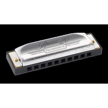 Custom Hohner Progressive Series 560 Special 20  Harmonica - G