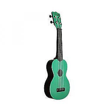 Custom Kala KA-SWB-GN Waterman Sea Foam Green Soprano Ukulele