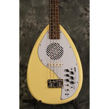 Custom Vox Apache 1 Bass Vintage Cream Phantom 4 Short Scale Travel Deluxe Gigbag & Strap FREE Shipping