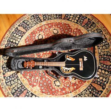 Custom Applause UAE 148 Black Tenor Ukulele