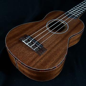 Custom New KALA KA-SMHS All Solid Mahogany Soprano Ukulele w/ Banjo Style Tuning Pegs