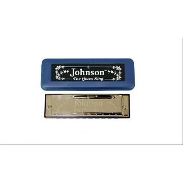 Custom Johnson BK-520-C Blues King Harmonica, C