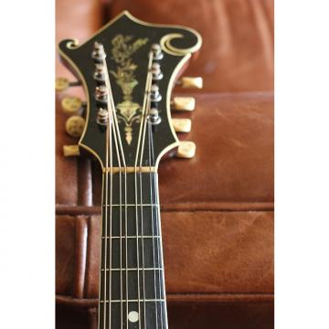 Custom Gibson H-4 Mandola 1917 Dark Red Sunburst