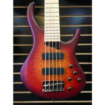 Custom Michael Tobias MTD Kingston ZX W/Bartolini pups Deep Cherry Burst