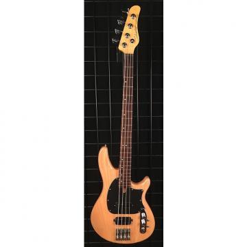 Custom Schecter CV-4 4-String Electric Bass Guitar Gloss Natural Finish