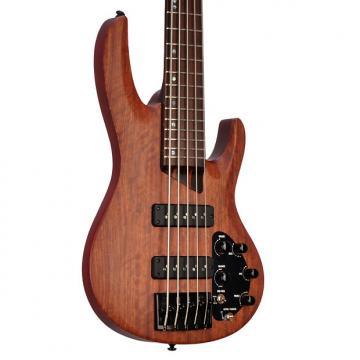 Custom ESP ESP B-1005SE Bubinga Natural Satin - Nordstrand Pickups  - W16020428 - 9.8 pounds