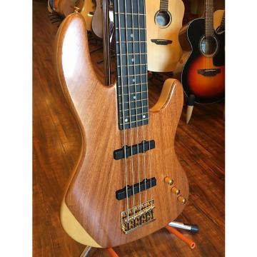 Custom Wolf Bubinga 5 String Jazz Bass special with Tesla Pickup [solid bubinga top]