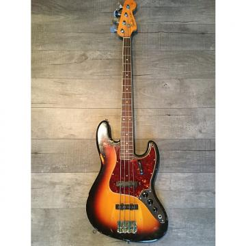 Custom Fender Jazz Bass 1966 3-Tone Sunburst