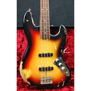 Custom NEW Fender Jaco Pastorius Tribute Jazz Bass Custom Shop Relic 2017 Sunburst Authorized Dealer RARE!