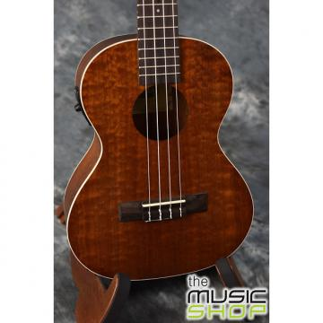 Custom Kala KA-TE Satin Mahogany Series Tenor Ukulele with Pickup - KATE Uke - 201606