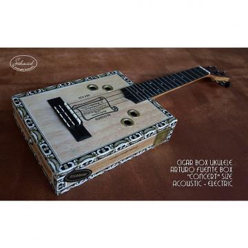 "Custom Cigar Box Ukulele, Concert size, ""Arturo Fuente"" Cigar Box"