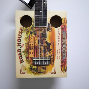 Custom Eddy Finn Cigar Box Ukulele 2017