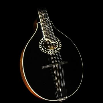 Custom Eastman MD404-BK A-Style Mandolin Black