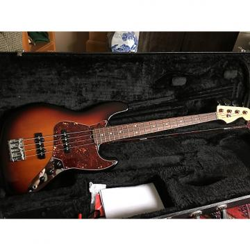 Custom Fender American Standard Jazz Bass 2014 3-Tone Sunburst