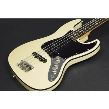 Custom Fender Japan AJB Vintage White