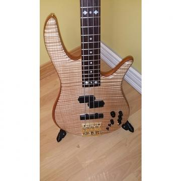 Custom Fodera Monarch Deluxe Victor Wooten 2012 Flame Maple
