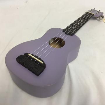 Custom New Kohala Tiki Soprano W/Tuner Purple