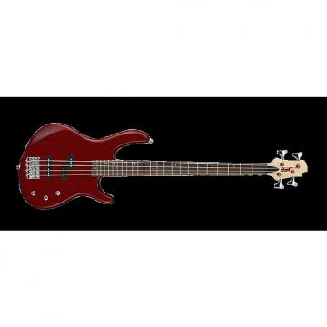 Custom Cort Action PJ Bass Guitar - Black Cherry