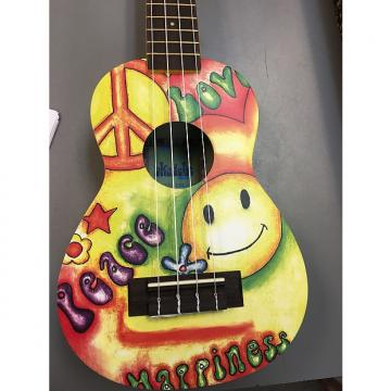 Custom Ukadelic Peace Love Ukuele Kala