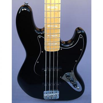 Custom Squier Squier '77 Vintage Modified Jazz Bass In Black