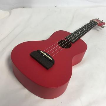 Custom New Kohala Tiki Concert Red Uke